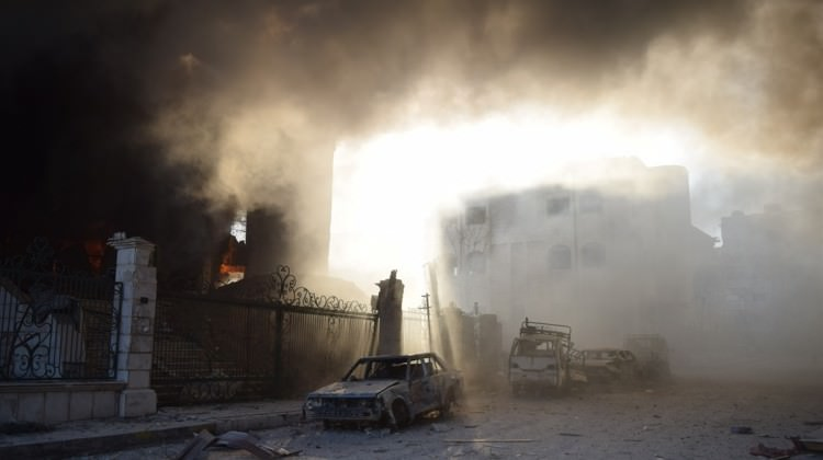Esed Rejimi Kimyasal Silahla Vurdu