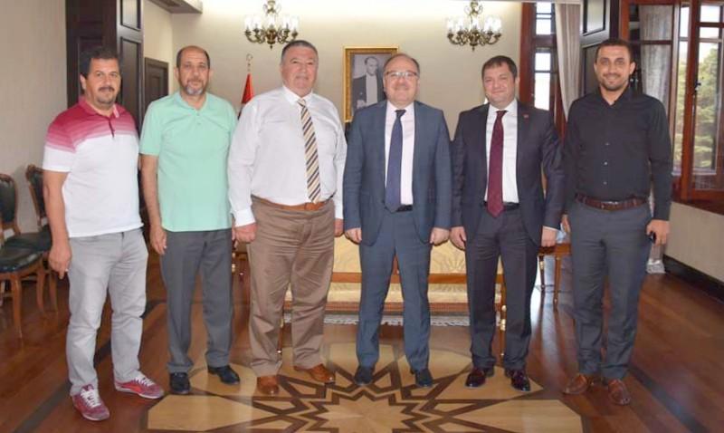 Ahmet Köksalan Vali Tutulmaz'ı Ziyaret Etti