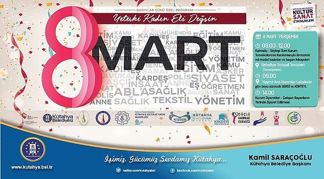 8 Mart'ta Kadınların Başarı Hikayeleri Anlatılacak
