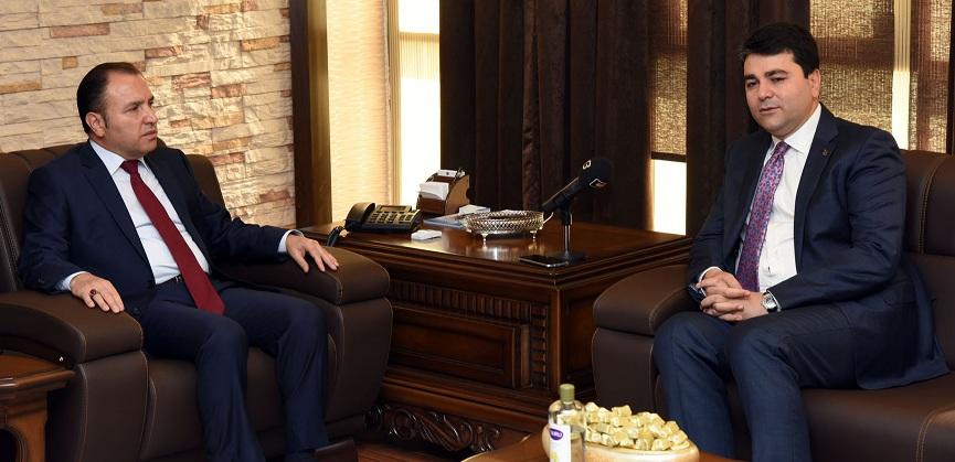 Milletvekili Uysal'dan Rektör Karakaş'a Ziyaret