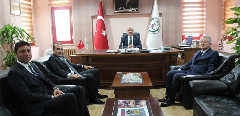 Yara Sar Derneği Ve Kardeş Kal Türkiye'den Baro Başkanı şahin'e Ziyaret