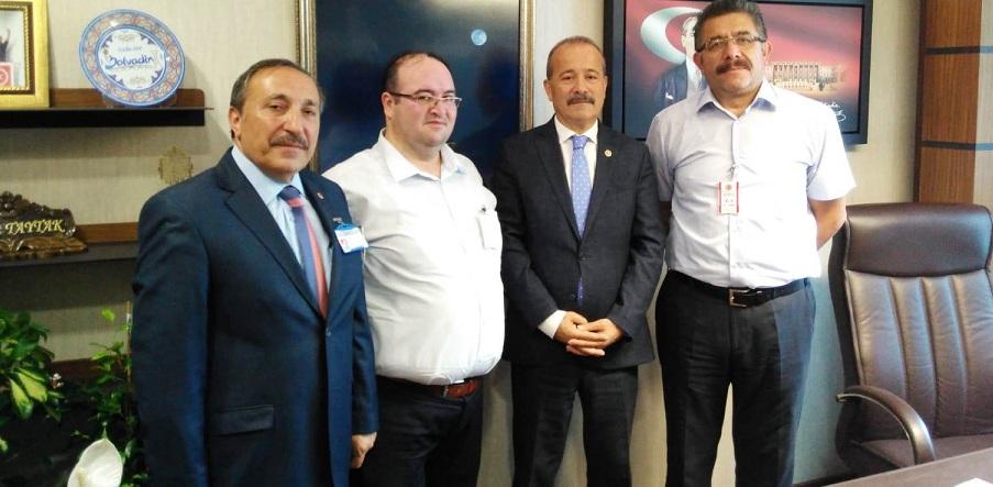 Boldav Milletvekili Mehmet Taytak´ı Makamında Ziyaret Etti.!