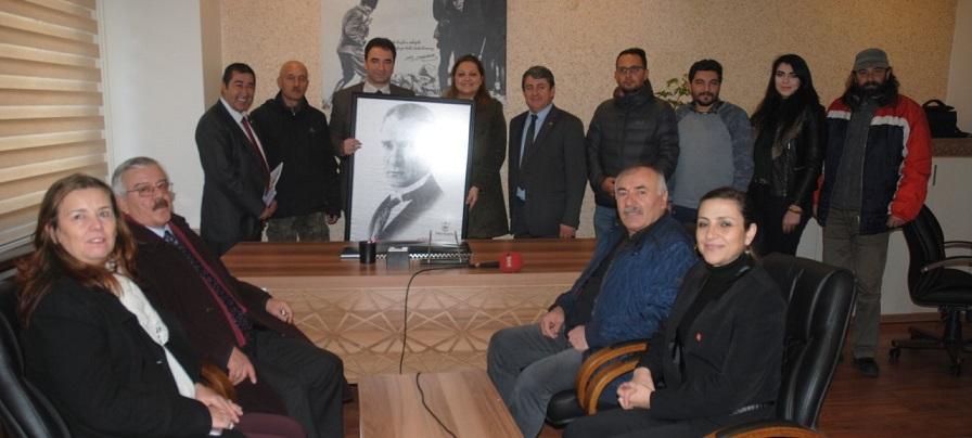 """""""her Yer Atatürk Posterleri İle Dolmalı"""""""