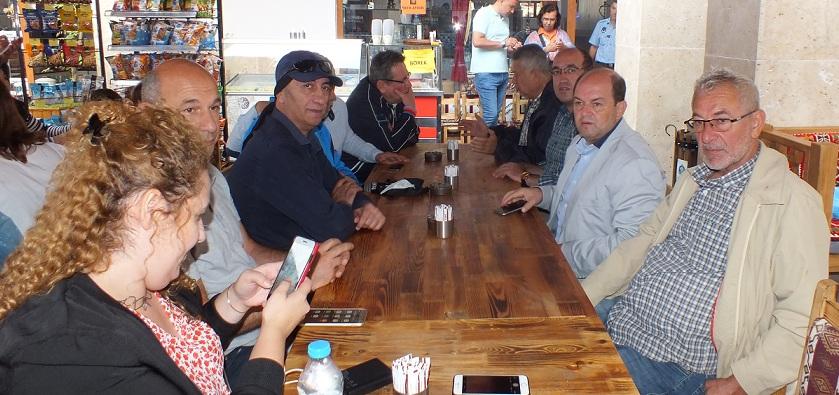 Başkan Mustafa çöl Basın Mensupları İle Bir Araya Geldi