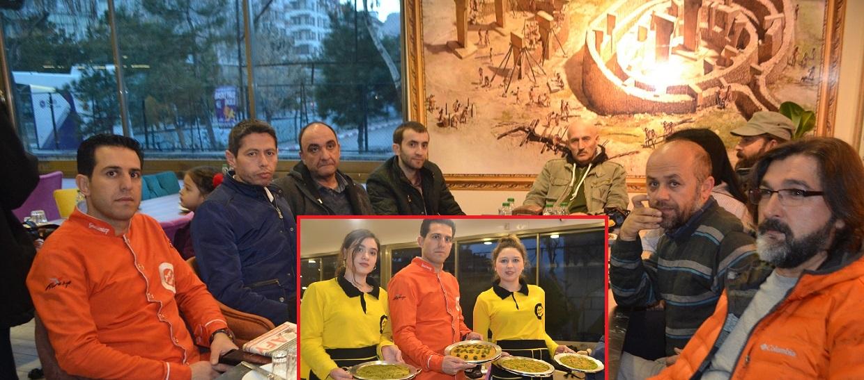 Afyonkarahisar'da Saygıoğlu Burger Künefe'den Basın'a Davet