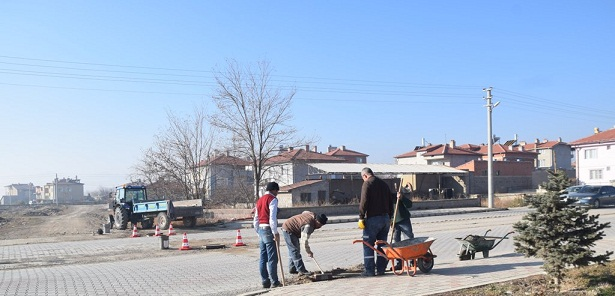 şuhut'da Yeni Yağmur Suyu Hatlarında çalışmalar Tamamlandı