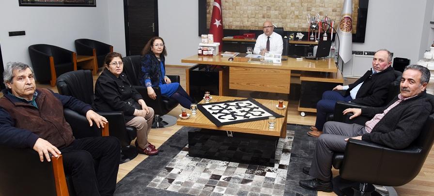 Akd Genel Sekreteri Gökçe'den Ziyaret