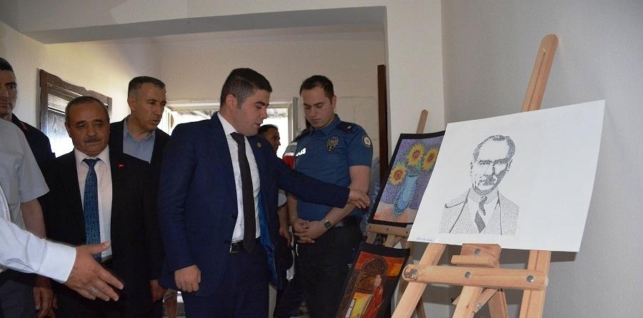 İscehisar Kaymakamlığı Millet Kültür Ve Sanat Kıraathanesi Açıldı