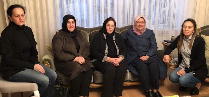 özkal Ve Ertürk'den Taziye Ziyareti