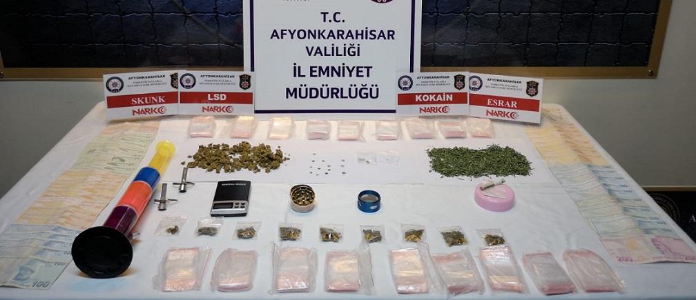 Uyuşturucu İmal Eden Kişiler Yakalandı..!!