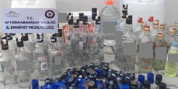 Gümrük Kaçağı Alkol Ele Geçirildi
