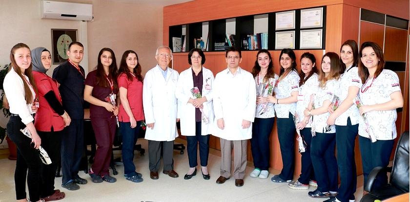 Fuar Hastanesinde Hemşirelik Haftası Etkinliği Gerçekleştirildi..