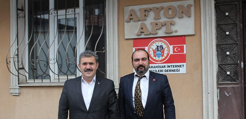 Serdaroğlu Afihad'ı Ziyaret Etti