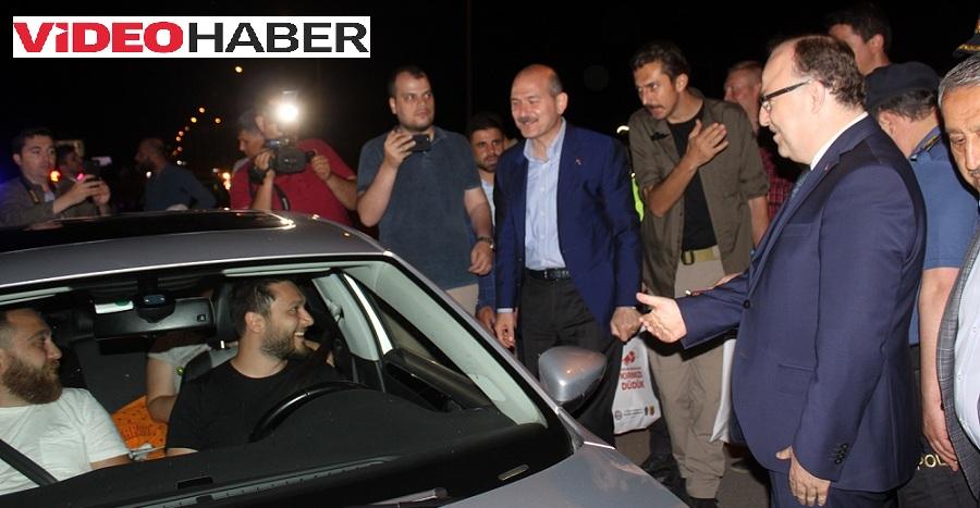 Bakan Soylu Afyonkarahisar'da Trafik Denetimlerine Katıldı..
