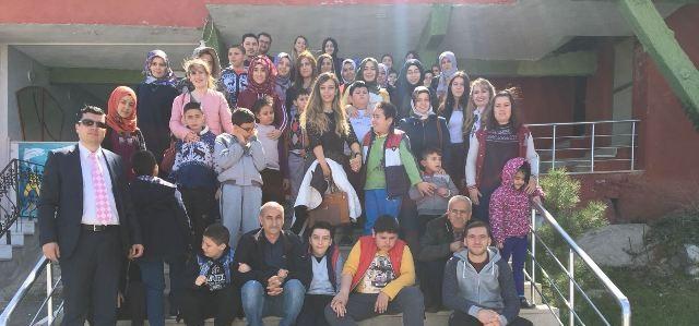 Otizmli çocuklar, Hıdırlık Seyir Restaurantı Ziyaret Etti