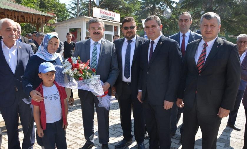 Milletvekili Yurdunuseven'den Tüm İlçelere Bayram Ziyareti