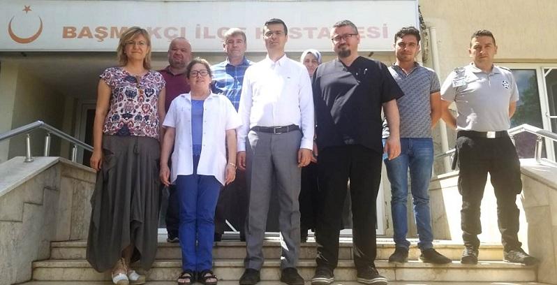 Korkmaz, Başmakçı Ve Dinar'da Sağlık Kuruluşlarını Ziyaret Etti