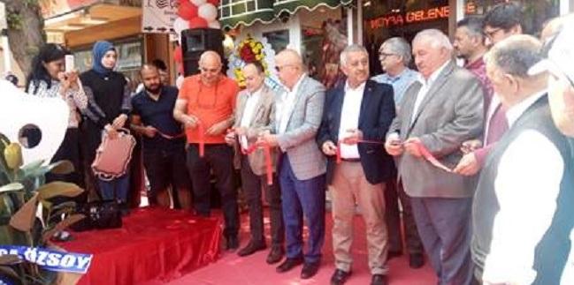 Danet Satış Mağazası Dualarla Açıldı
