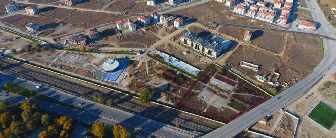 Veysel Eroğlu Parkında çalışmalar Son Sürat
