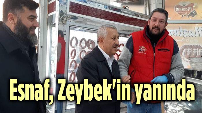 Esnaftan Zeybek'e Yoğun İlgi..
