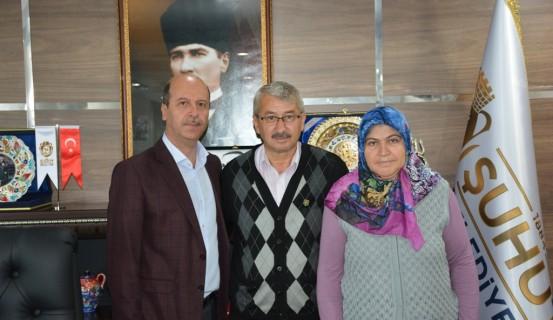 şehidimizin Anne Ve Babasından Başkan Bozkurt'a Ziyaret