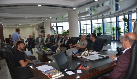 Yalı Mahallesinden Başkan Bozkurt'a Ziyaret