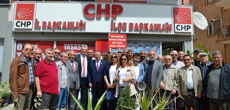 Chp İl örgütü Seçim Startını Verdi