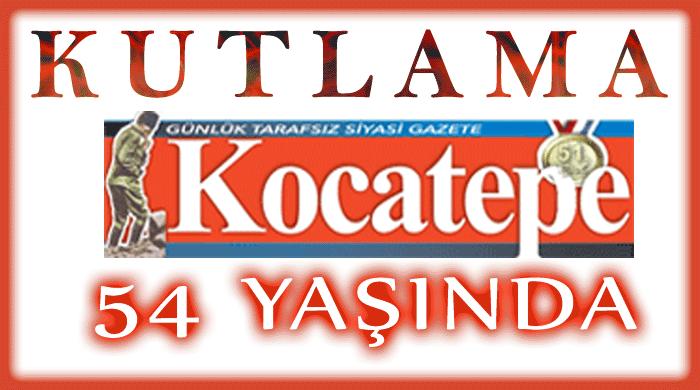 Kocatepe Gazetesi 54 Yaşında