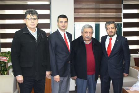 Lider Medya Grubundan Müdür Korkmaz'a Ziyaret