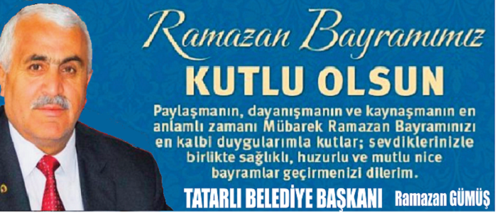 Başkan Ramazan Gümüş'den 29 Ekim Cumhuriyet Bayramı Mesajı