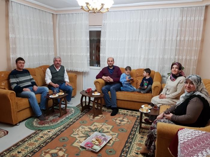 Başkan Kumartaşlı'dan Gazi Kurt'a Ziyaret