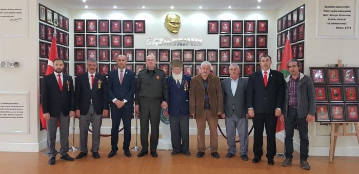 8nci Ana Bakım Merkezi Müdürü Mühendis Alb. Dinçer'den Anlamlı Ziyaret