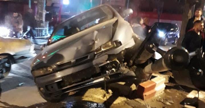 Ambaryolu Migros Kavşağında Trafik Kazası