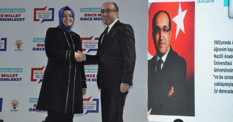 Sandıklı Ak Parti Belediye Başkan Adayı Mustafa çöl