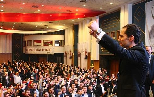"""Fatih Erbakan : Yeniden """"refahın Vakti Geldi."""""""