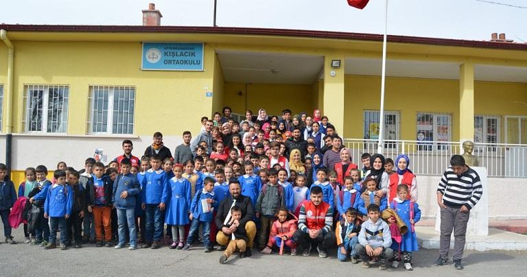 Gençlik Merkezi Kışlacık İlkokulu öğrencileri İle Buluştu