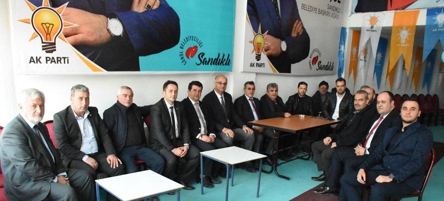 Mustafa Gürel'den Ak Parti Seçim Bürosuna Ziyaret