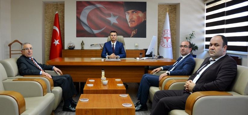 Başkan Mustafa çöl'den Sağlık Müdürlüğüne Ziyaret