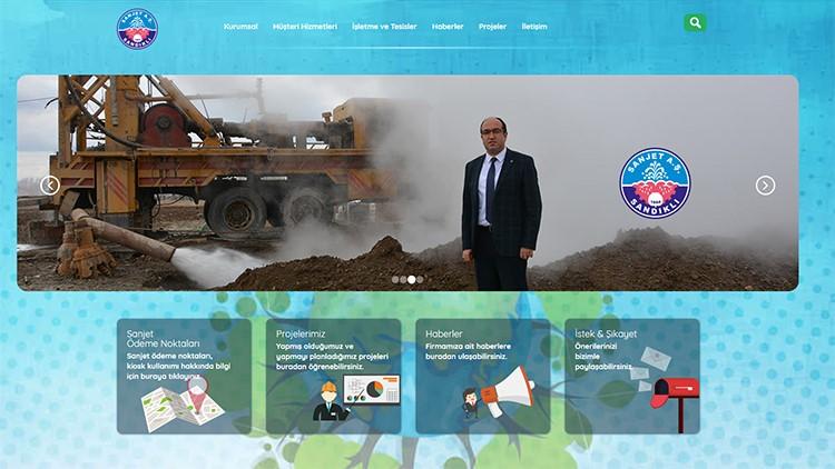 Sanjet A.ş'nin Yeni İnternet Sitesi Yayına Başladı