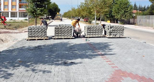 Dinar'da Yeni Hastaneye Yeni Yol Yapıldı