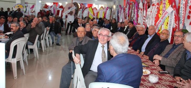 Dinar İlçesinde, Chp Grup Başkanvekili Engin Altay çalışmalarına Katıldı