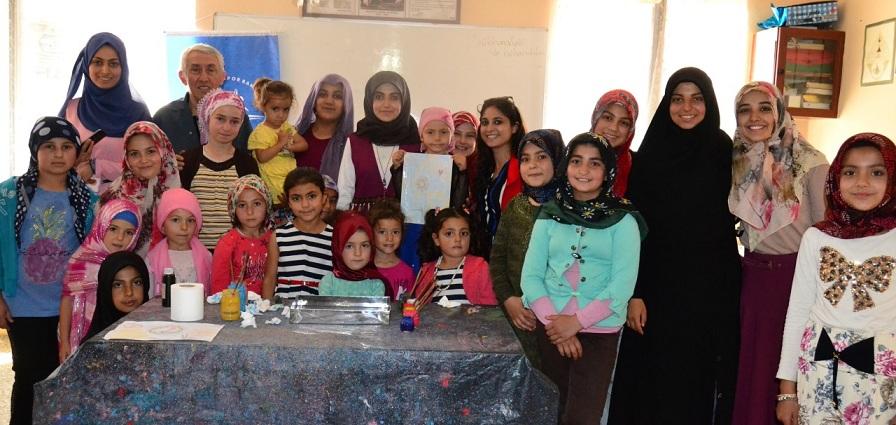 Karahisar Gençlik Merkezi Belce Köyünde