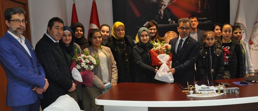 Cumhuriyet Başsavcısı Mehmet özel'e Ziyaret