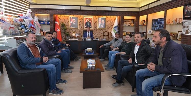 Sandıklı Spor Bilordo Klübünden Başkan çöl'e Ziyaret