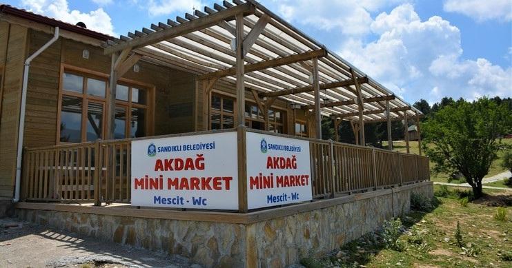 Akdağ'da Mini Market Hizmete Başladı