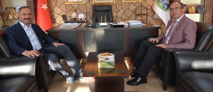 Başkan Mustafa çöl'e Ziyaretler Devam Ediyor