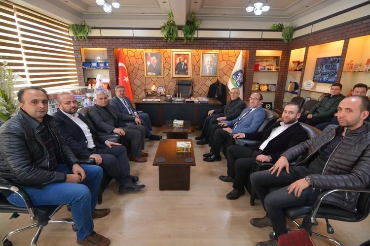 Ak Parti İl Yönetiminden Başkan çöl'e Ziyaret