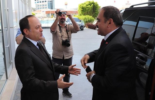 Cumhurbaşkanlığı ırak özel Temsilcisi Eroğlu, Atso'yu Ziyaret Etti