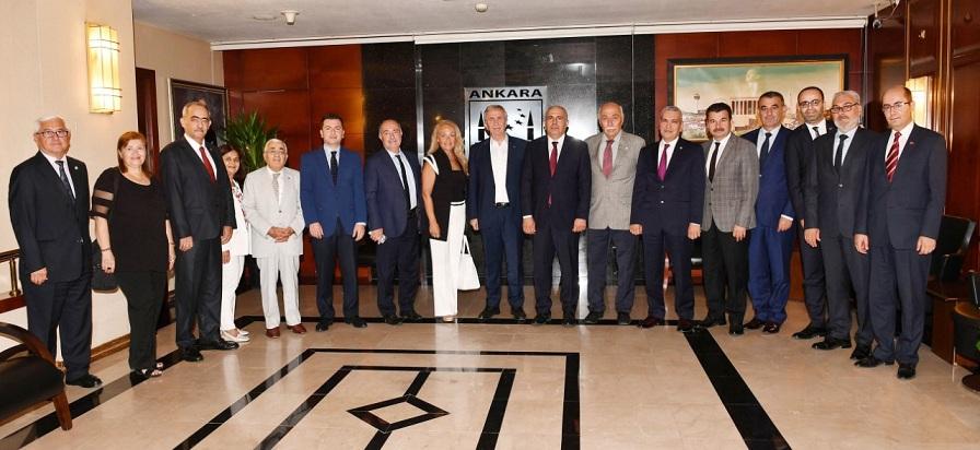 Egem Platformu'ndan Mansur Yavaş'a Hayırlı Olsun Ziyareti..