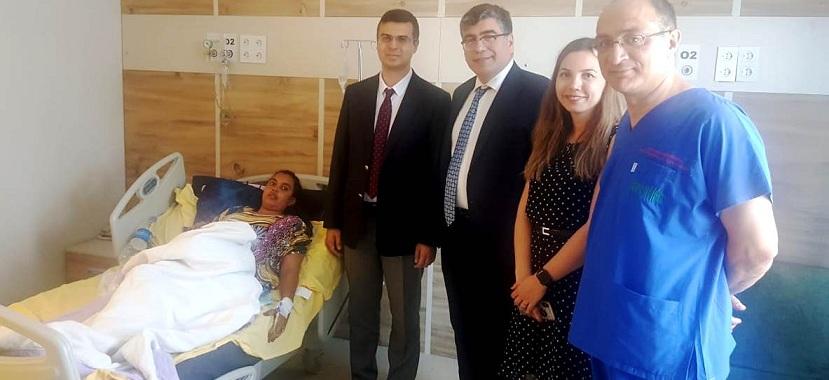 Korkmaz, Fertillife Afyon Hastanesini Ziyaret Etti..